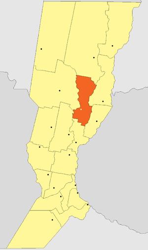 San Justo Department, Santa Fe - Image: Departamento San Justo (Santa Fe Argentina)