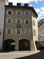 Der vormalige Gasthof Weißes Kreuz am Kornplatz in Bozen Südtirol.JPG