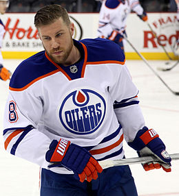 Description de l'image Derek Roy - Edmonton Oilers.jpg.