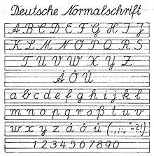Deutsche normalschrift ab 1941