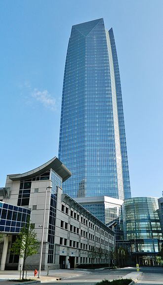 Oklahoma City - Devon Energy Center, tallest building in the state