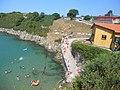 Dia de verano en la playa de Guadamia , ( Asturias ). - panoramio.jpg