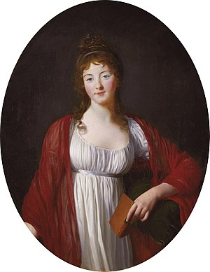 Louis Marie Florent du Châtelet - Diane-Adélaïde, Dowager Countess of Simiane (circa 1800)