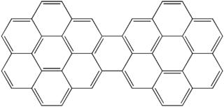 Dicoronylene very large polycyclic aromatic hydrocarbon