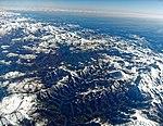 Die Pyrenäen aus 10 000 Meter Höhe fotografiert. 02.jpg