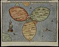 Die gantze Welt in ein Kleberblat, welches in der Stadt Hannover, meines lieben Vaterlandes Wapen - Norman B. Leventhal Map Center at the BPL.jpg