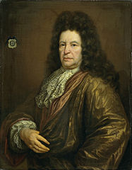 Portrait of Diederik van Hogendorp, Lord of Cromstrijen, Councilor and Steward of the Domains of Stadtholder King William III