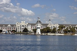 Disney's Yacht Club Resort - Front Side of Disney's Yacht Club Resort