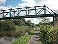 Disused Footbridge and Pipeline - geograph.org.uk - 34712.jpg