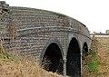 Disused three-arch railway bridge, Flecknoe (3) - geograph.org.uk - 1545076.jpg