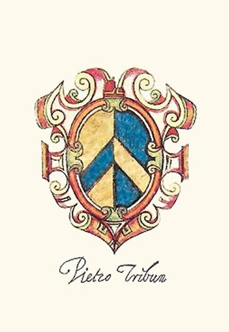 Pietro Tribuno - Coat of arms of Pietro Tribuno, Doge of Venice.