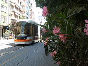 Eskişehir - Estram, the city's tram service.
