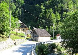 Dolina, Tržič Place in Upper Carniola, Slovenia