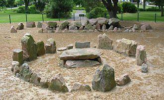 Archaeology of the Channel Islands - Dolmen La Ville ès Nouaux, Jersey
