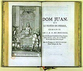 Dissertation sur dom juan de moliere