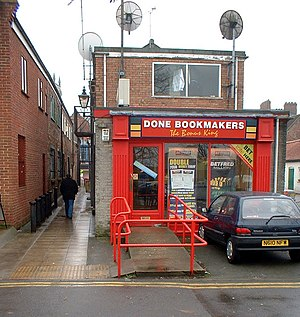 English: Done Bookmakers - The Bonus King. Bet...