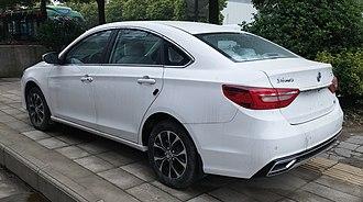 Dongfeng Fengxing Jingyi S50 - Dongfeng Fengxing Jingyi S50 facelift
