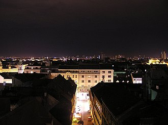Donji grad, Zagreb - Image: Donji Grad