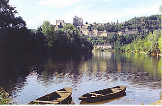 Beynac-et-Cazenac - The Dordogne River at Beynac