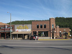 Downtown Custer South Dakota