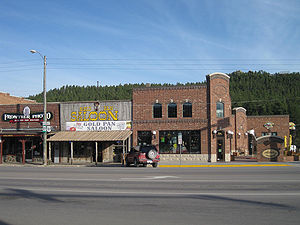 Custer, South Dakota - Downtown Custer, South Dakota