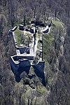 Drégelypalánk, a vár fényképe a levegőből.jpg