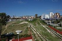 Drač, Rruga Adria, železniční trať.jpg