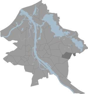 Dreiliņi, Riga - Location of Dreiliņi in Riga