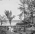 Drewry's Bluff, Virginia. View of Confederate Fort Darling.jpg