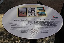 Dublin Castle Chester Beatty Library Plaque.JPG