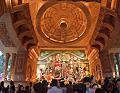 Durga Puja Pandal Interior - Singhi Park - Dover Lane - Kolkata 2014-10-02 8967-8975.tif