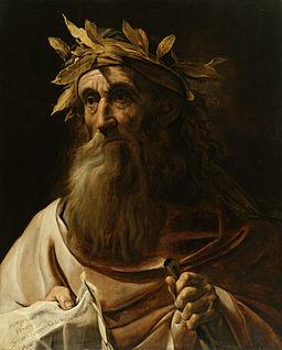 Dutch - Portrait of the Poet Homer - Walters 37646
