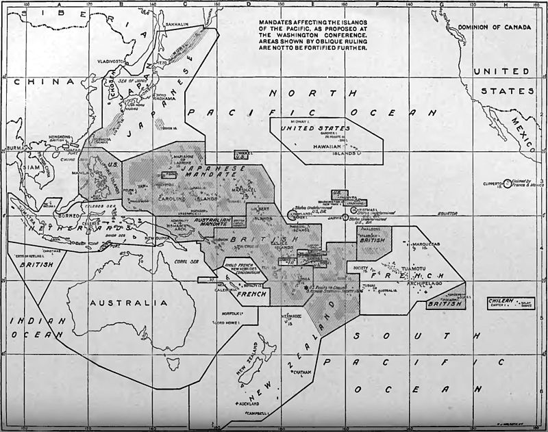 EB1922 Washington Conference - islands not to be fortified further.jpg