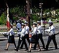 ENP Rouen-Oissel flag guard Bastille Day 2008.jpeg