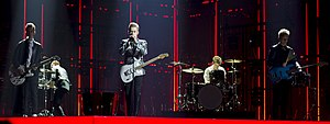 Finland in the Eurovision Song Contest 2014 - Softengine at the second semi-final dress rehearsal