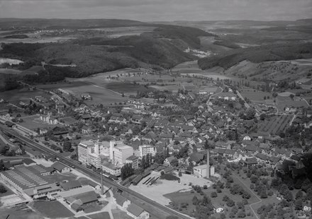 Aerial view (1958)
