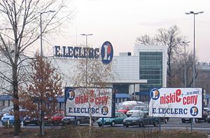 E.Leclerc - E.Leclerc in Wrocław, Poland