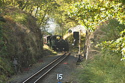 Earl of Merioneth at Tan-y-Bwlch railway station (8326).jpg