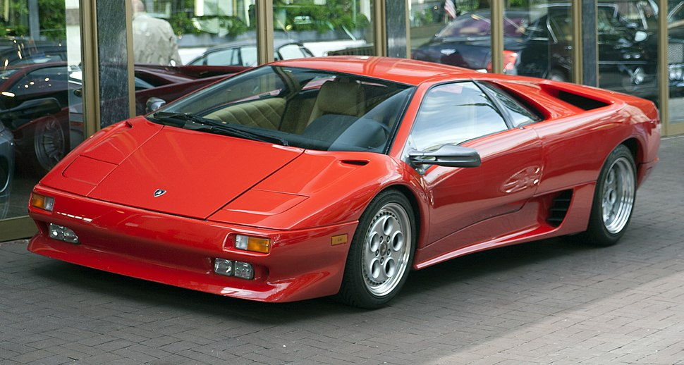 Lamborghini Diablo Howling Pixel