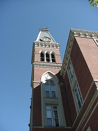 DePauw University - East College tower