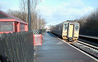 East Garforth railway station - Image: East Garforth