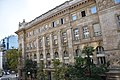 Eastern facade of Headquarters of the Hungarian National Bank.jpg