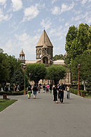 Echmiadzin Cathedral (view from the back).jpg
