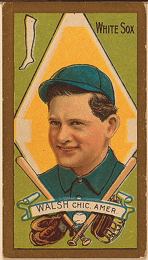 Ed Walsh - A 1911 Ed Walsh T205 tobacco card