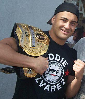 UFC 205 - Image: Eddie Alvarez