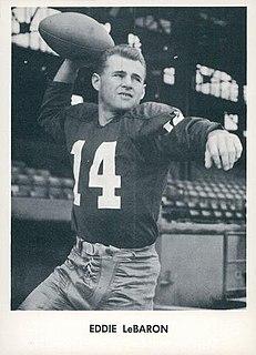Eddie LeBaron American football player, coach, and executive