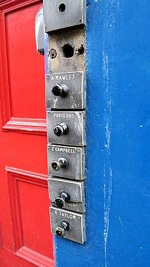Fabulous Doorbell Wikipedia Wiring 101 Ferenstreekradiomeanderfmnl