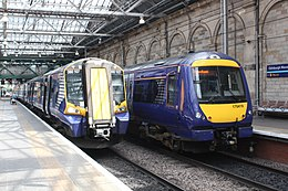 Edinburgh - Abellio 380107 and 170419.JPG