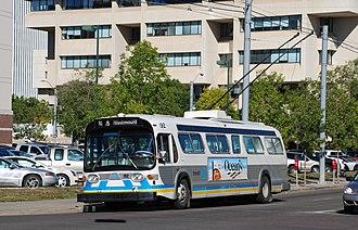 Edmonton Transit Service - ETS trolley bus
