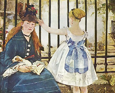 The Railway, by Édouard Manet